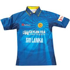 sri lanka cricket team jersey