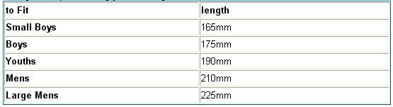 venum knee pads size guide